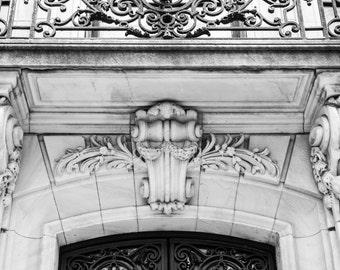 New York City Architecture // Black and White Fine Art Photography // Giclée Photo Print