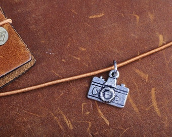 Camera Notebook Charm (Traveler's Notebook)