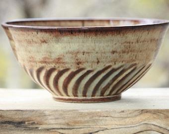 Stoneware serving bowl, Ceramic bowl