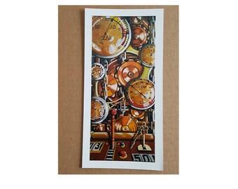 Time Machine Artist Print//5x10//