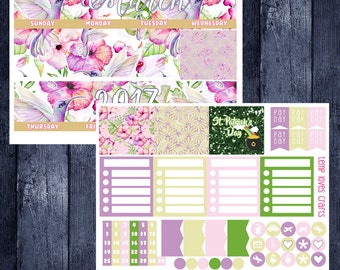 March Monthly Stickers for New Erin Condren Life Planner