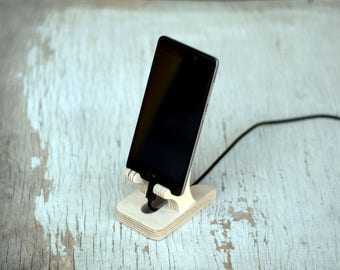 docking station, gift idea, wood stand, ipad iPhone stand, phone stand, smartphone stand, Tablet Phone Stands, gadget, Wood, Universal stand