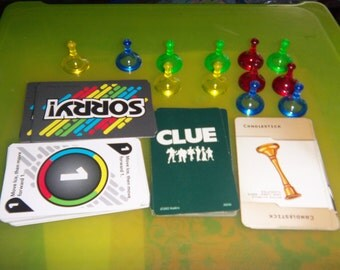 Mix lot of Sorry & Clue Pieces