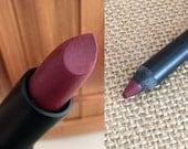 RAVENOUS- Lipstick and Liner or Sample. Vegan friendly.