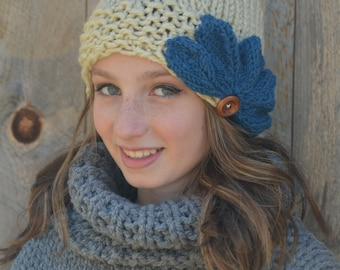 Ruby Slouchy Hat - MADE TO ORDER