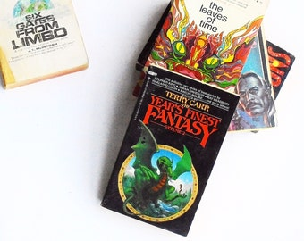 The Year's Finest Fantasy, Volume 2: Edited by Terry Carr (1979, Berkley Books) Vintage Fantasy Fiction Paperback