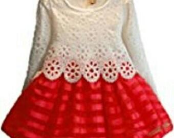 Little Girls Party Dress- 5T.