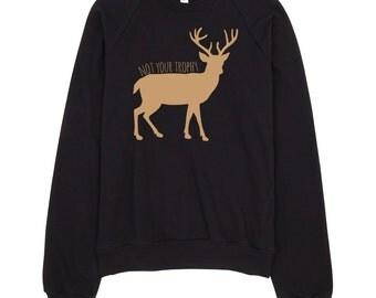 Vegan Sweatshirt | Vegan | Animal Rights | Rescue | Animal Lover | Deer | Vegan Gifts | Vegan Christmas Gifts | Anti Hunting