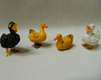Vintage Miniature Ducks