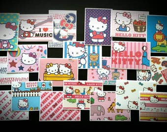 20 Handmade Hello Kitty Cards with Envelopes / Blank Cards / Hello Kitty Cards / Cards with Envelope / Hello Kitty / Greeting Cards / Sanrio