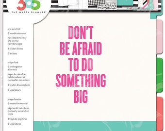 The Happy Planner - Create 365 - Me and My Big Ideas - Six Month Extension Pack - BIG