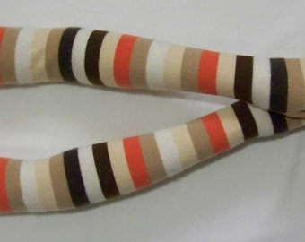 Cashmere, Multicolor, Delicate, Upcycled, Extra Long, Soft and Warm Fingerless Gloves with Thumb Holes, IDEAL for HER