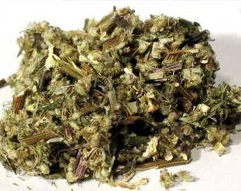 Mugwort Cut Dried Certified Organic 1 Oz Artemisia Vulgaris