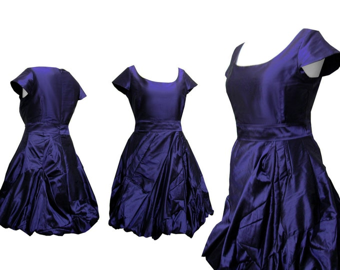 Cocktailkleid Amorph midnightblue silk