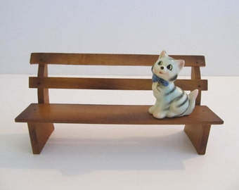 Doll Furniture, Dollhouse Furniture, Doll Park Bench, Dollhouse Park Bench, Toys, Dolls, Furniture, Park Bench, Park Benches, Japan