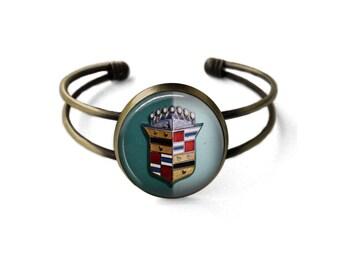 Vintage Cadillac Emblem Bracelet