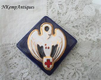 Pottery plaque