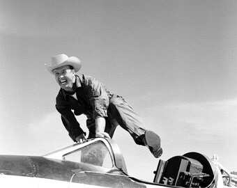 Cowboy Joe (NACA High-Speed Flight Station test pilot Joseph Walker) X1-A Plane