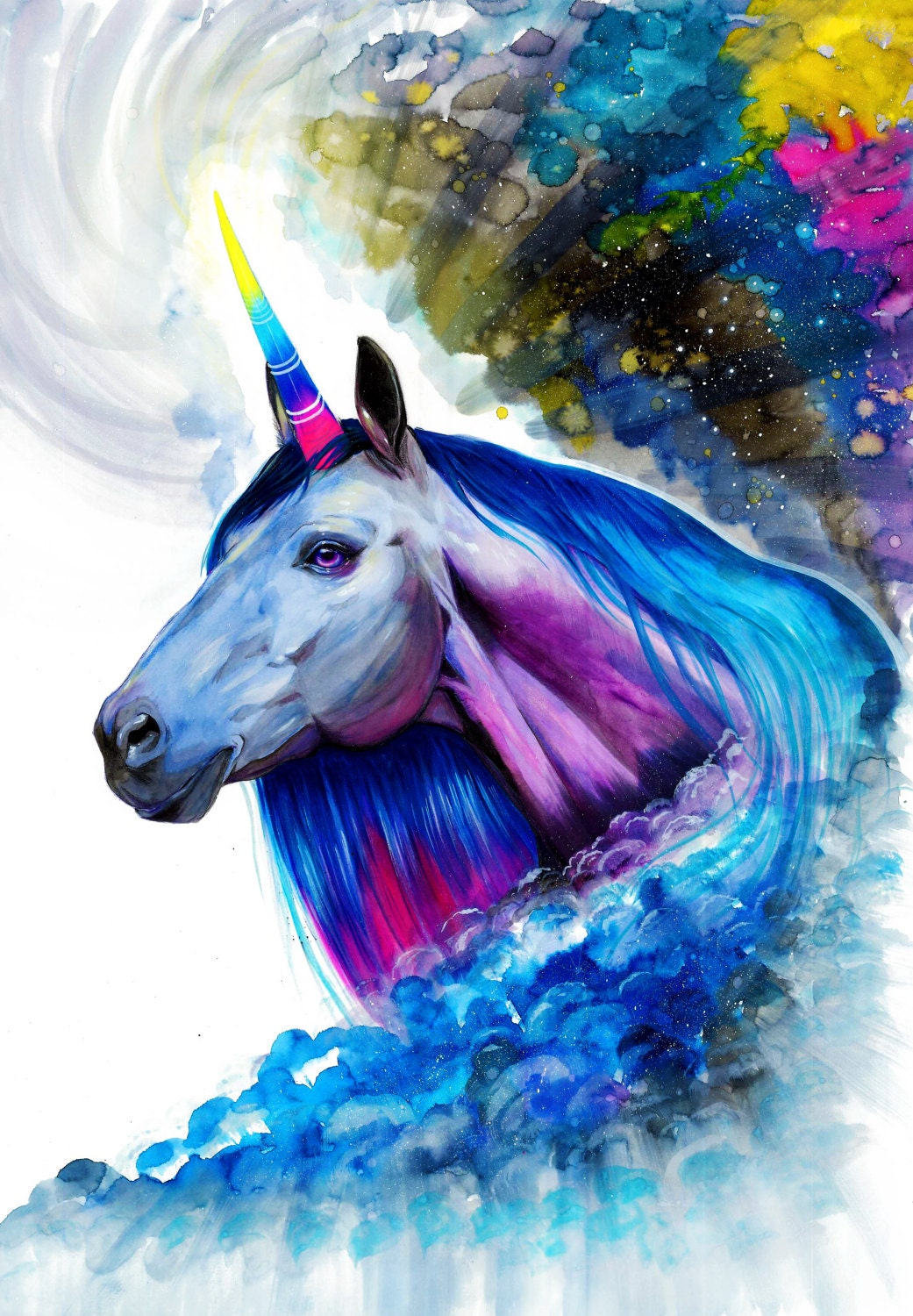 It's just a graphic of Remarkable Picture of Unicorns