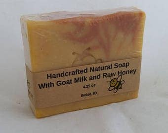 Handmade Soap with Goat Milk and Honey