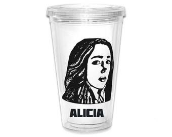 """Fear The Walking Dead """"ALICIA"""" Tumbler"""