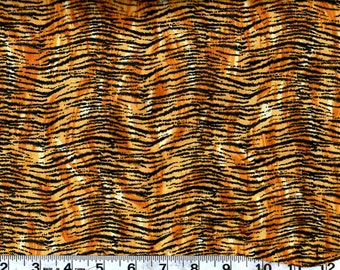 Animal  Print Cotton Fabric, Animal Skin Print By the Yard  #256-1