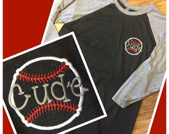Baseball Softball Mom 3/4 Sleeve