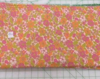 SALE - Vintage Cotton Fabric Yardage