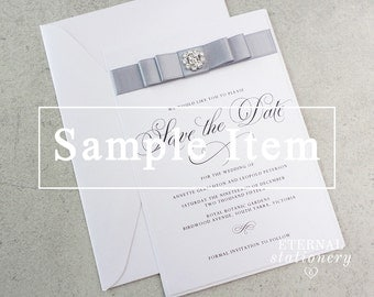 "Modern and elegant Save the Date SAMPLE - ""Annette"" 
