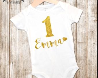 1st Birthday Onesie, First Birthday Onesie, Birthday Outfit, Custom Birthday Shirt,  Birthday Onesie, Birthday Bodysuit, First Birthday
