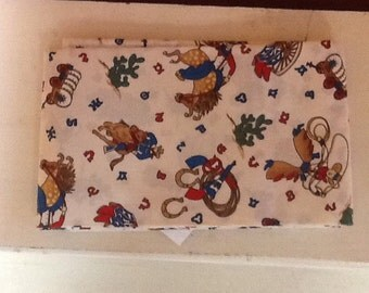 Western & wildlife fabric by the yard