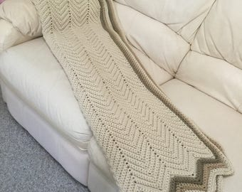 Crocheted Afghan blanket