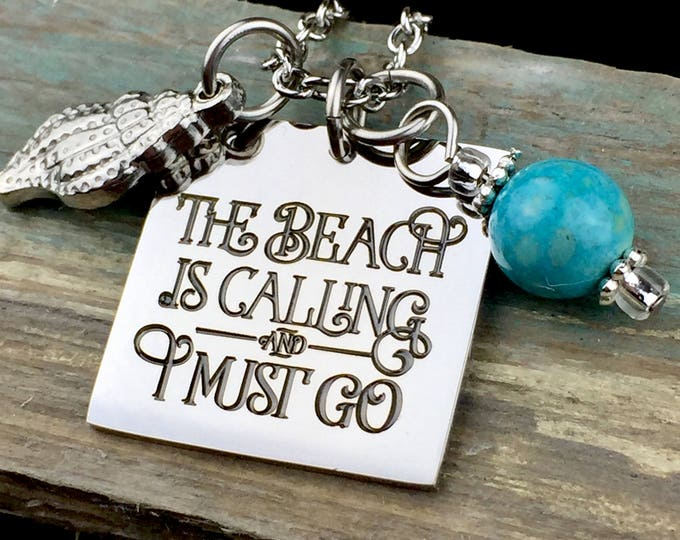 Beach is Calling Necklace