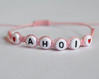 "Bracelet ""AHOI"""
