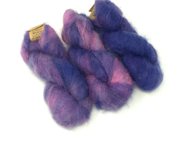 Frizzed (Mohair): Purple Rain