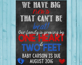 July 4th Pregnancy Announcement July 4th Pregnancy Reveal Fourth of July 4th of July Growing Family Two Feet One Heart