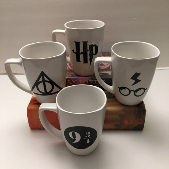 Harry Potter Themed Mug Set