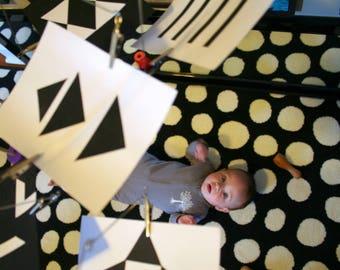 Montessori Black and White Mobile (Assembled)