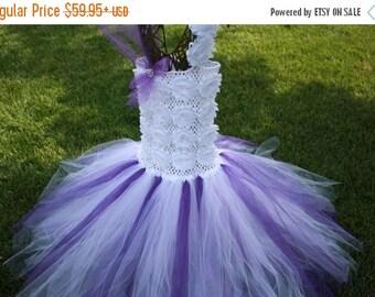 White Tulle Flower Girl Dresses Sale 105