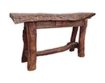 """Mesquite 65"""" Rustic Sofa Table"""