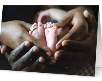 New Baby, Newborn Congratulations, Congrats Greeting Card
