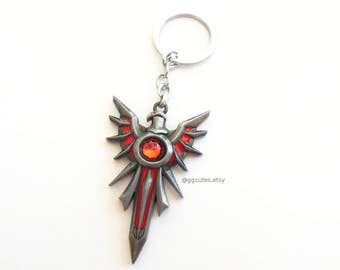 Leona Crest Keychain- League of Legends