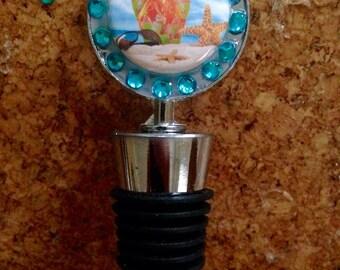 Flip Flop Beach  bottle stopper