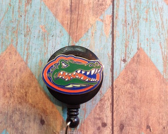 University of Florida  retractable badge reel
