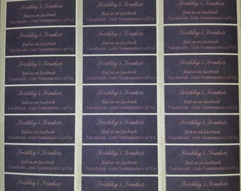 Custom Business labels or Business address labels (great way to descibe a product)