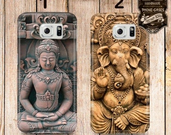 "Handyschale, Phone Case, iPhone Samsung Galaxy, "" Buddha & Ganesha """