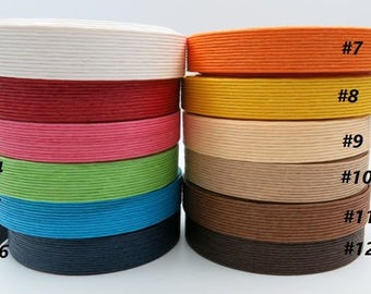 Japan Paper Band / Craft Band for weaving basket / Miniature house