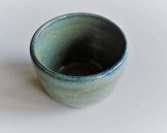 Small green miniature pot