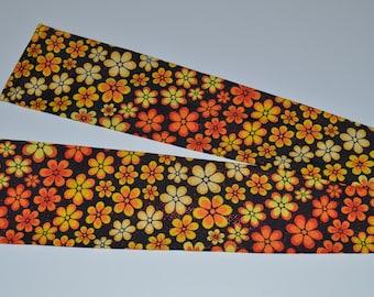 Flower Shower - Orange sleeve