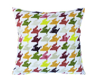 Geometric pillow, NEVADA design, Colorful pillow, Decorarive pillow case, Pillow Covers,  Accent pillow